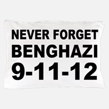 Benghazi Never Forget Pillow Case