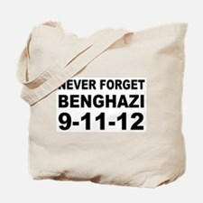 Benghazi Never Forget Tote Bag