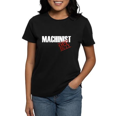 Off Duty Machinist Women's Dark T-Shirt