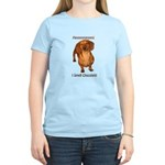 Mmmm I Smell Chocolate! Women's Light T-Shirt
