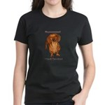 Mmmm I Smell Chocolate! Women's Dark T-Shirt