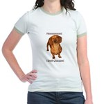 Mmmm I Smell Chocolate! Jr. Ringer T-Shirt