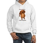 Mmmm I Smell Chocolate! Hooded Sweatshirt