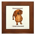 Mmmm I Smell Chocolate! Framed Tile