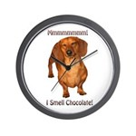 Mmmm I Smell Chocolate! Wall Clock