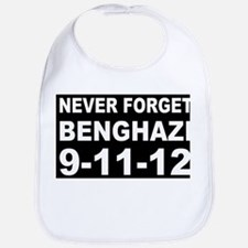 Benghazi Never Forget Bib