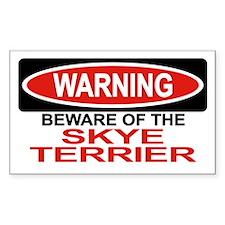 SKYE TERRIER Rectangle Decal