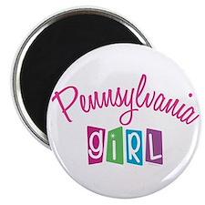 """PENNSYLVANIA GIRL! 2.25"""" Magnet (10 pack)"""