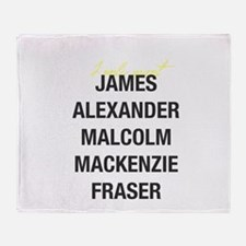 I Only Want JAMMF Throw Blanket