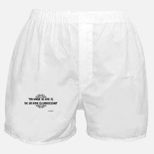 Where All Love Is Outlander Boxer Shorts
