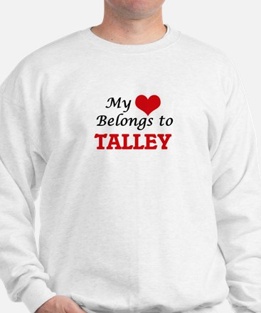My Heart belongs to Talley Sweatshirt