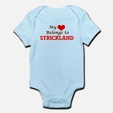 My Heart belongs to Strickland Body Suit
