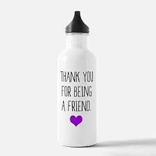 Funny 80s pop culture Water Bottle