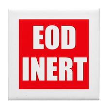 EOD Inert Tile Coaster