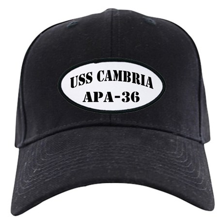 USS CAMBRIA Black Cap