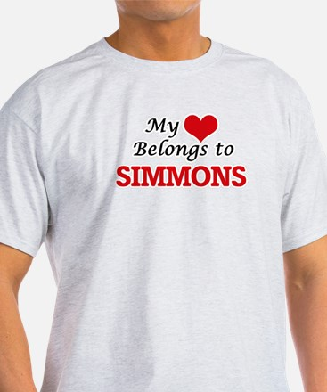 My Heart belongs to Simmons T-Shirt