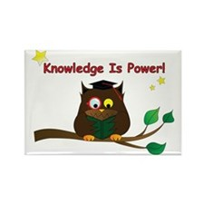 Wise Owl Rectangle Magnet (10 pack)