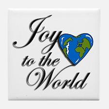 Joy to the world! Tile Coaster