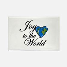 Joy to the world! Rectangle Magnet