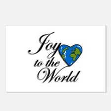 Joy to the world! Postcards (Package of 8)