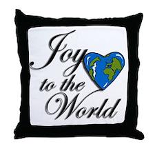 Joy to the world! Throw Pillow