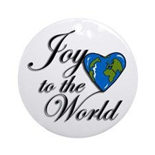 Joy to the world! Ornament (Round)