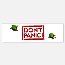 Hitchhiker - Don't Panic! Bumper Bumper Sticker