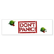Hitchhiker - Don't Panic! Car Sticker