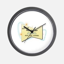 Instant Racquetball Player Wall Clock