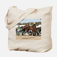 Cute Standardbred horse Tote Bag