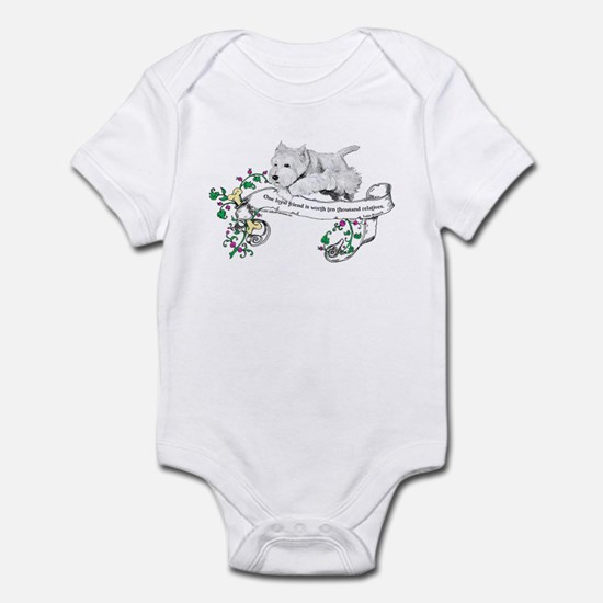 Loyal Westhighland White Terr Infant Bodysuit