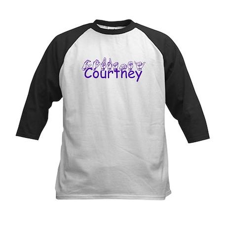 Courtney Kids Baseball Jersey