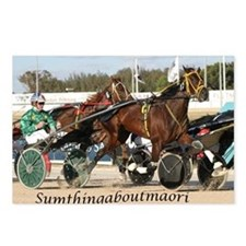 Cute Harness racing Postcards (Package of 8)