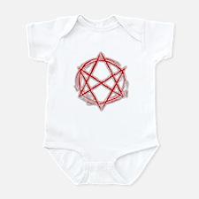 Unicursal Hexagram Infant Bodysuit