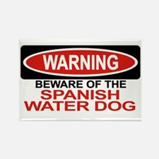 SPANISH WATER DOG Rectangle Magnet (10 pack)