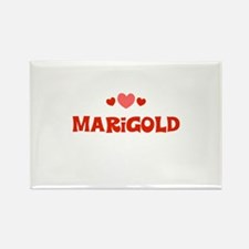 Marigold Rectangle Magnet (10 pack)