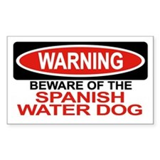 SPANISH WATER DOG Rectangle Decal