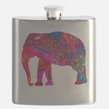 Funny Bands Flask