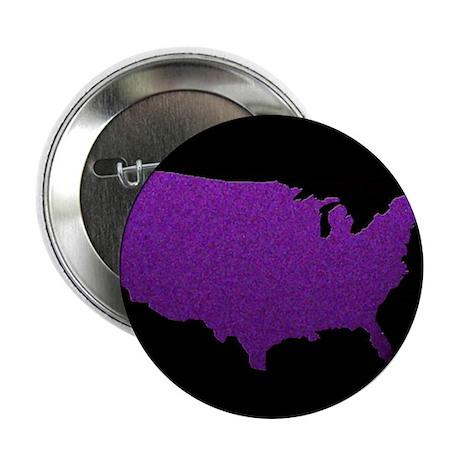 "purple USA 2.25"" Button (10 pack)"