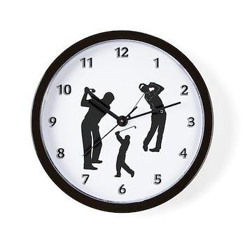 Golf Club Wall Clock