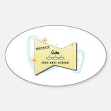 Instant Quilter Oval Stickers