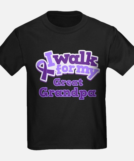 Alzheimers Walk For Great Grandpa T-Shirt
