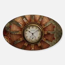 Steampunk with clocks and gears Decal