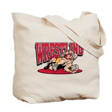 Wrestling Takedown Tote Bag