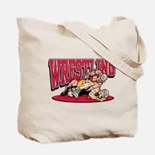 Wrestling Takedown Tote Bag