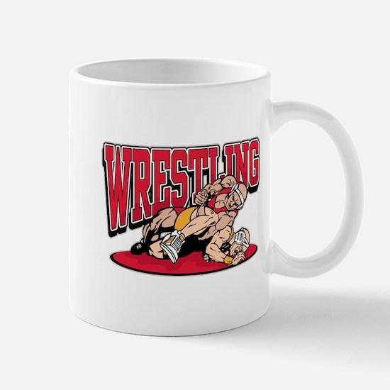 Wrestling Takedown Mug
