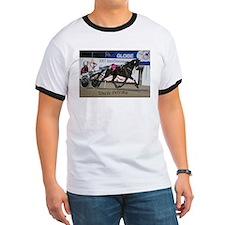 Unique Horse hooded T