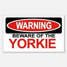 YORKIE Rectangle Decal