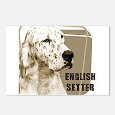 English Setter Vintage Postcards (Package of 8)