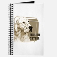English Setter Vintage Journal